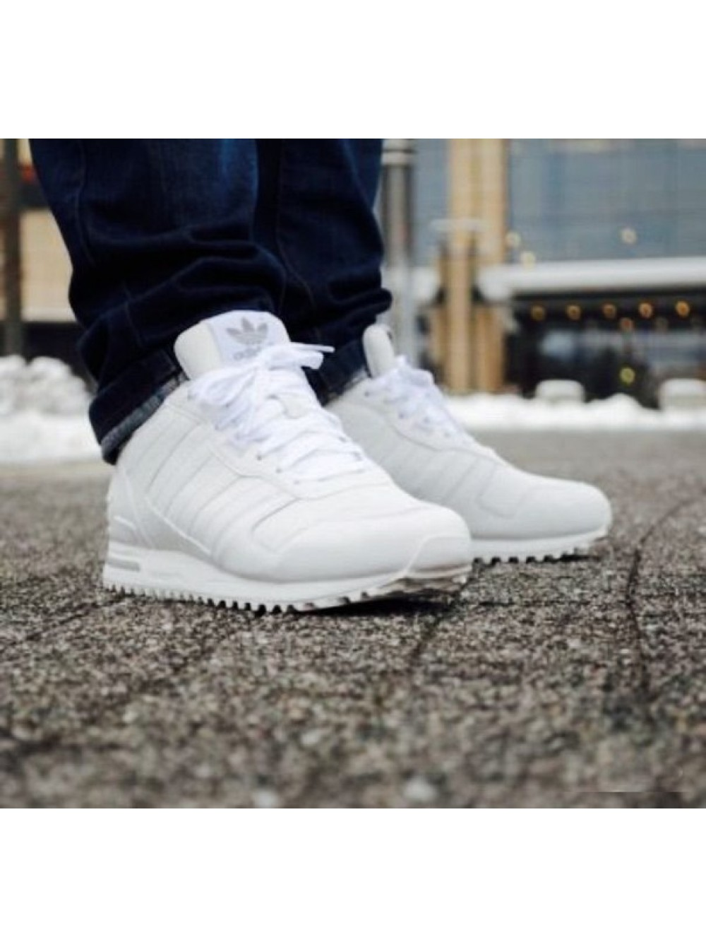 956e1f7c Adidas ZX 700 Leather White (Мужские)