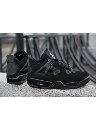 Nike Air Jordan 4 Retro Mens Shoes Black