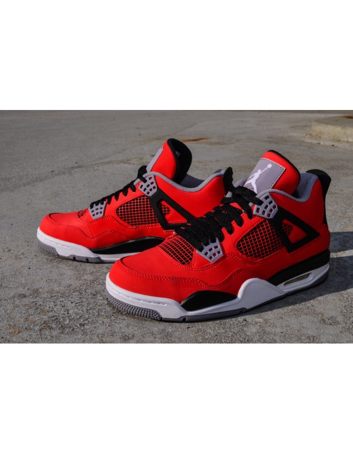 Nike Air Jordan Retro 4 IV RedBlackGrey