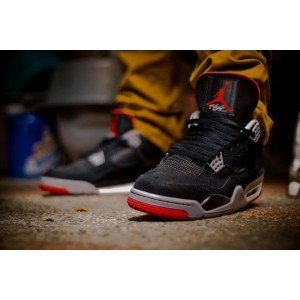 Nike Air Jordan Retro 4 IV Black Cement