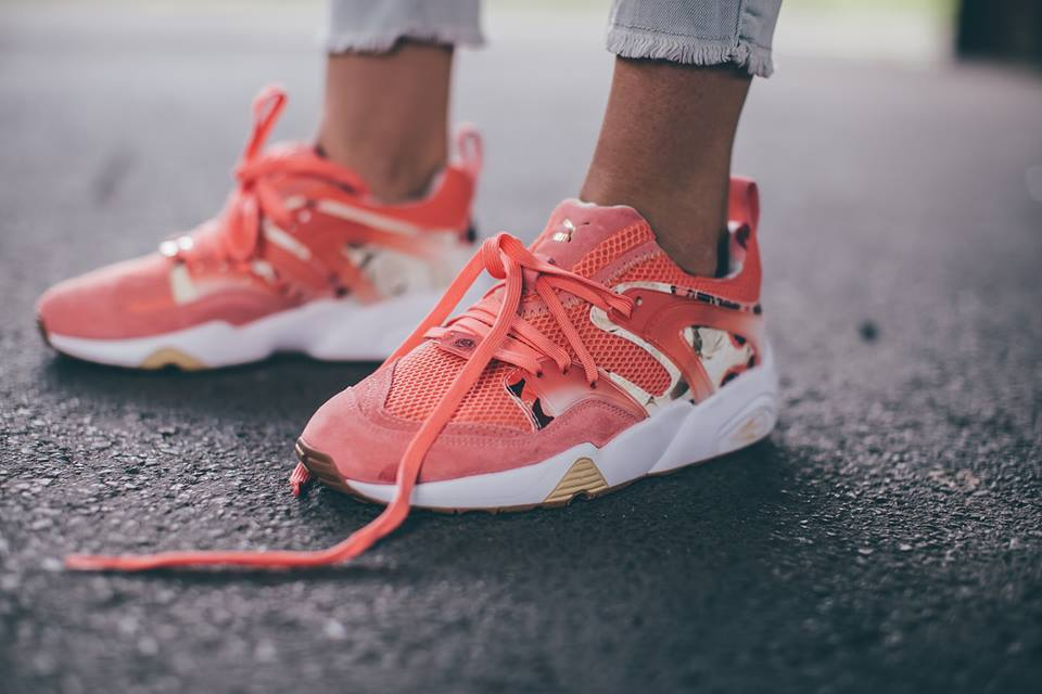 puma trinomic blaze of glory porcelain rose